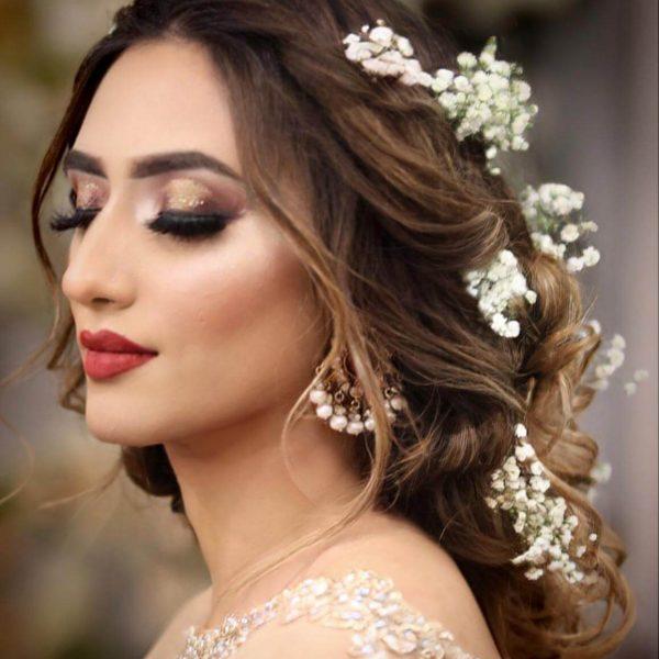 heavy-glitter-wedding-makeup